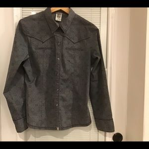 The North Face Fitted Blouse. Size Medium